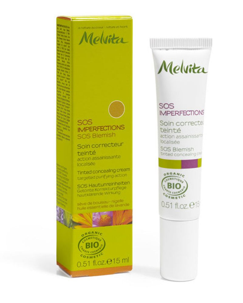 SOS imperfections de Melvita