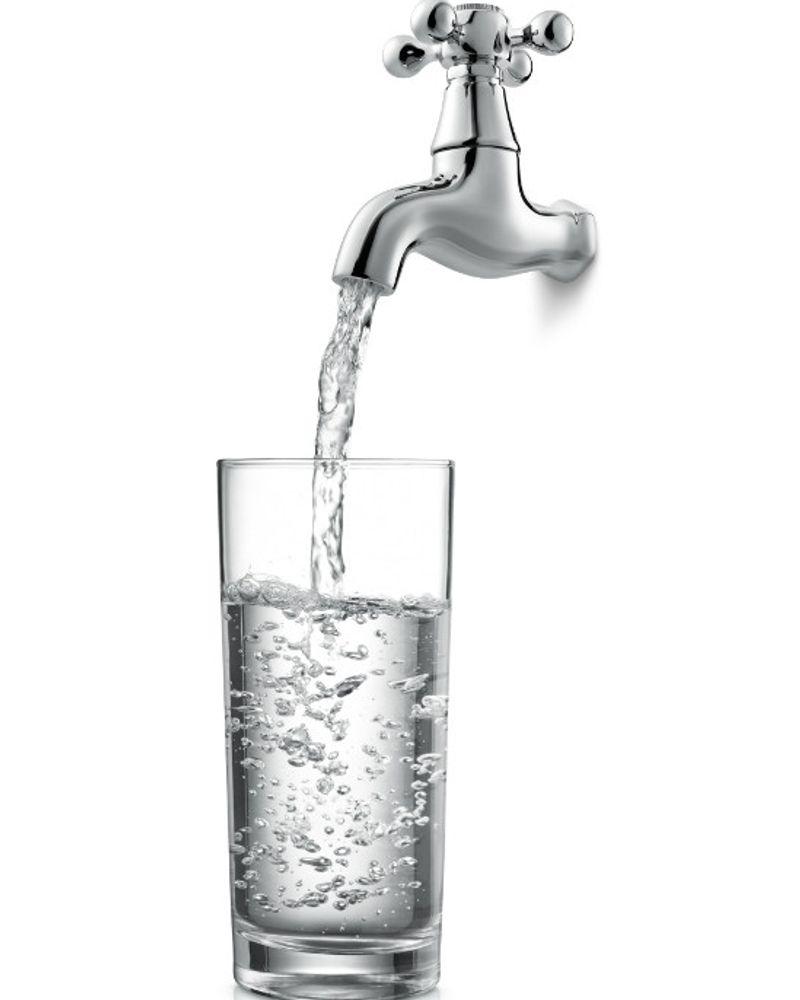 Attention à l'eau du robinet