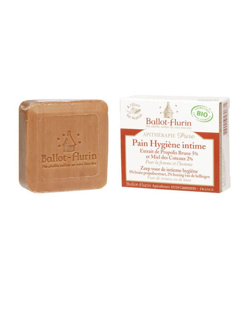 Le savon hygiène intime de Ballot Flurin