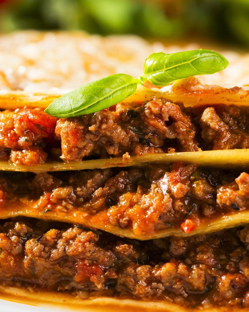 lasagne viande boeuf cheval