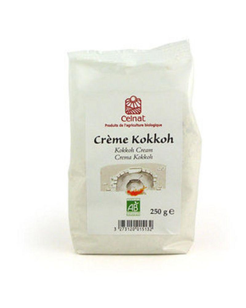 La crème kokkoh bio de Celnat