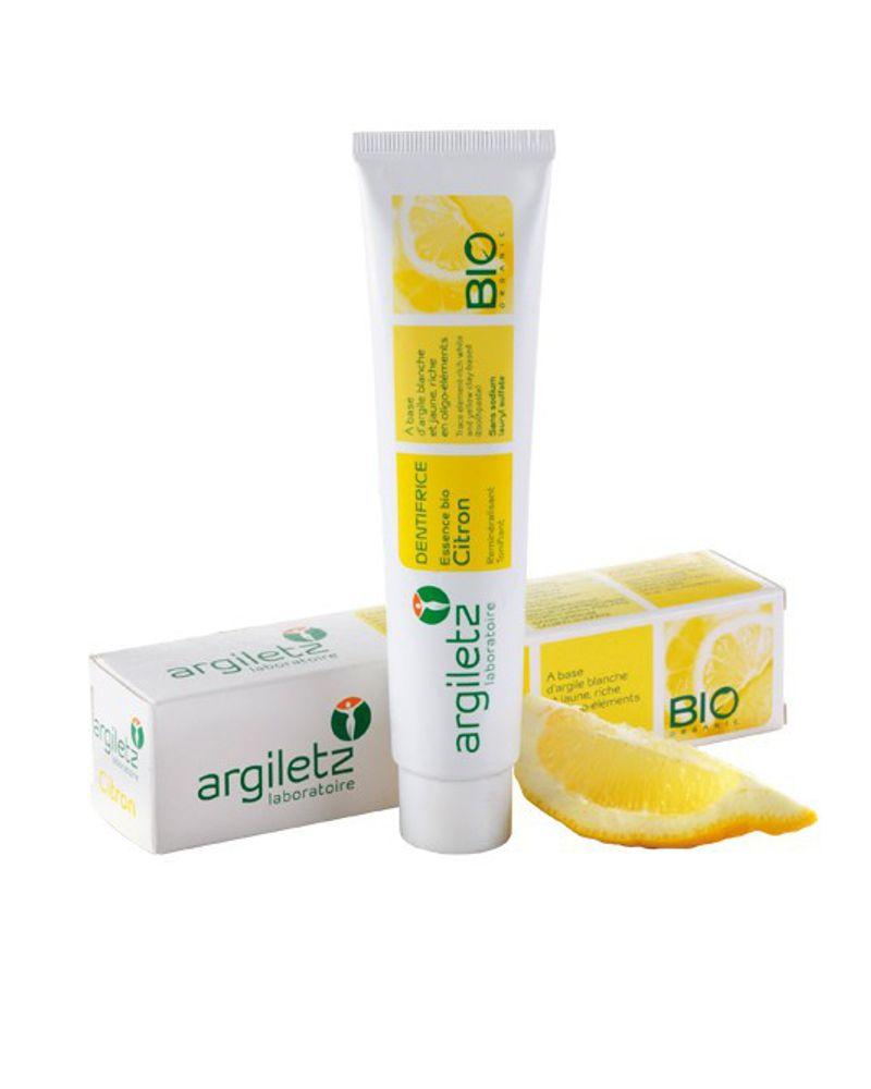 Le dentifrice citron d'Argiletz