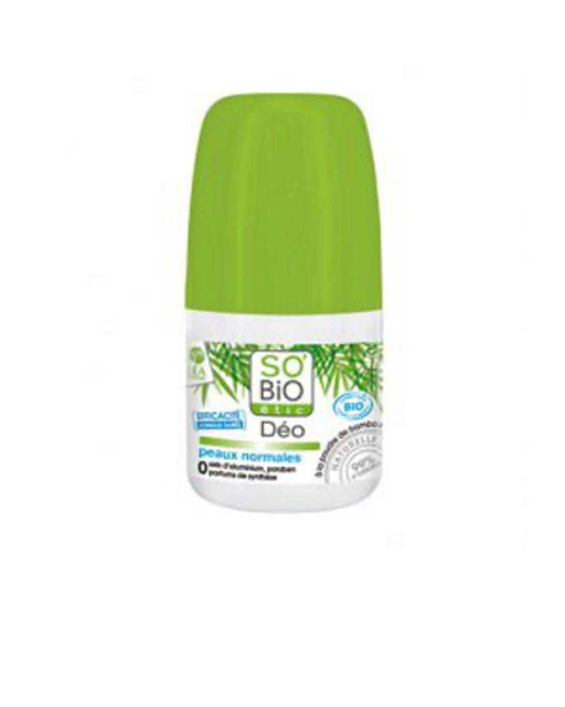 Le déodorant poudre de bambou So'bio ethic