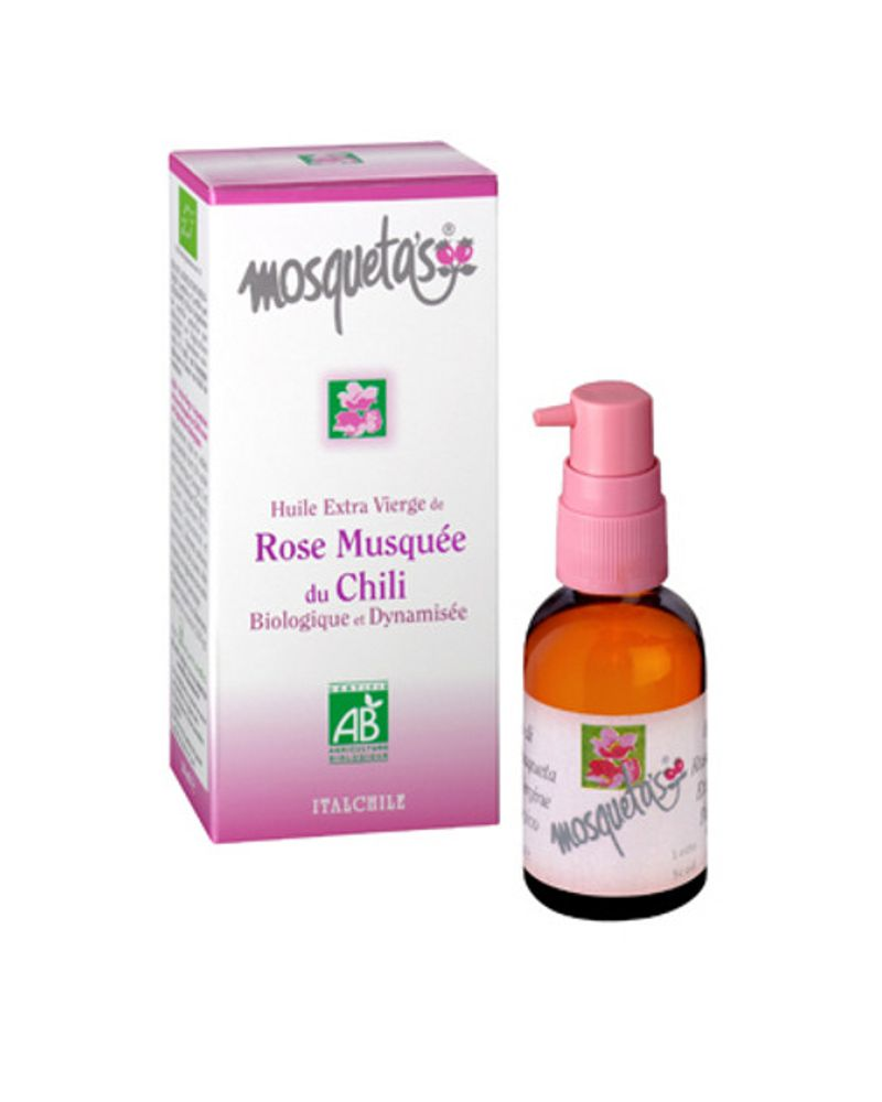 L'huile de rose musquée de Mosqueta's