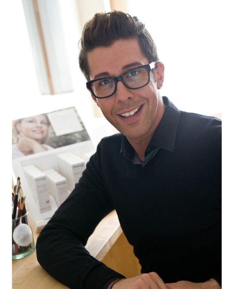 Karim Sattar, make-up artist de Dr.Hauschka