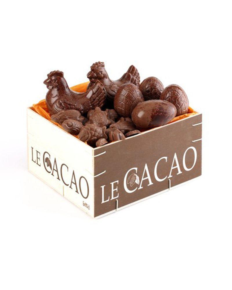 La boîte découvert cacao