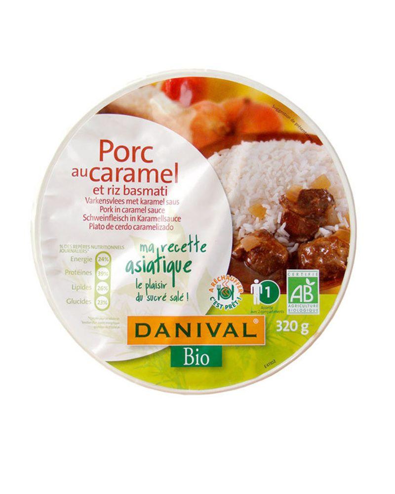 Le porc au caramel et riz basmati de Danival