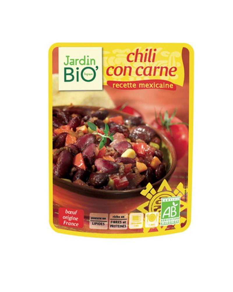 Le chili con carne de Jardin Bio
