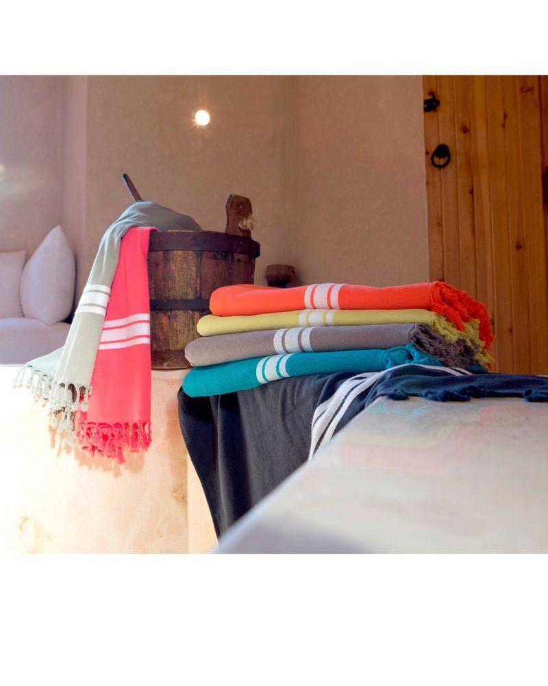 Les draps de bain Pestamal de Harmony