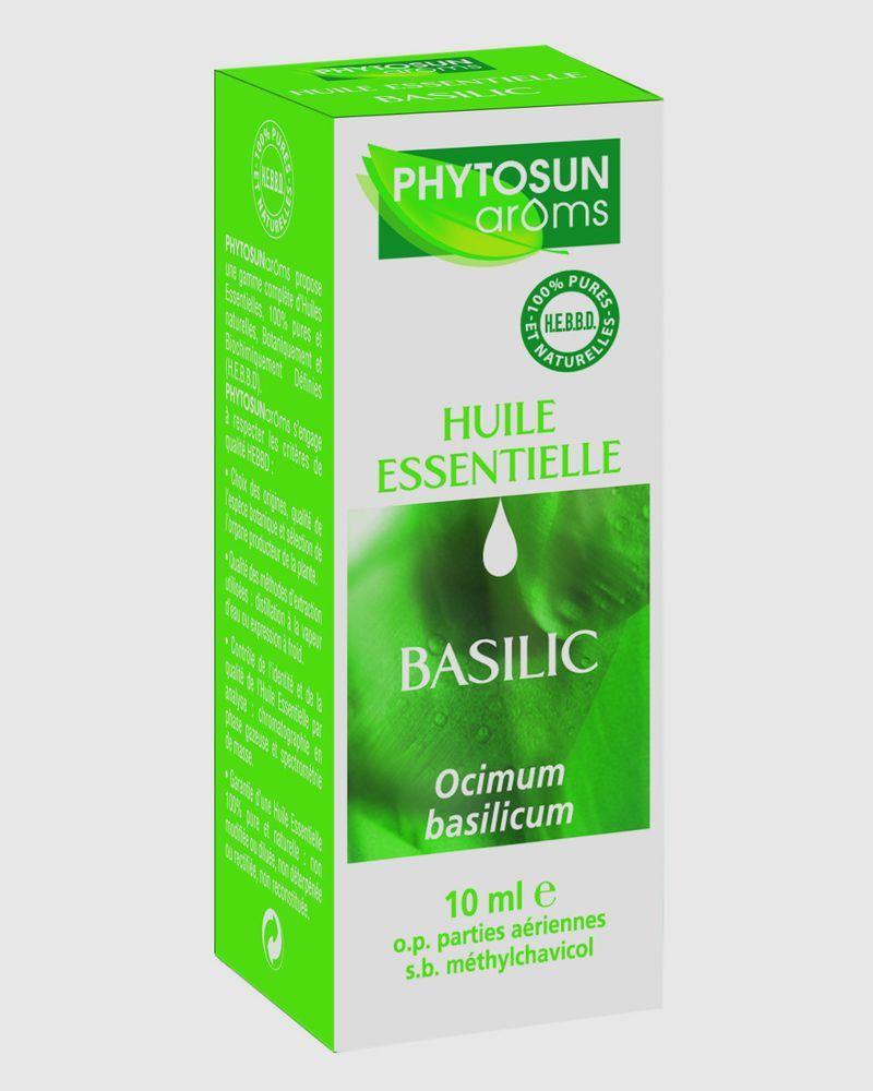 L'huile essentielle basilic de Phytosun aroms