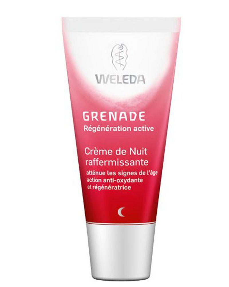 La crème raffermissante à la grenade de Weleda