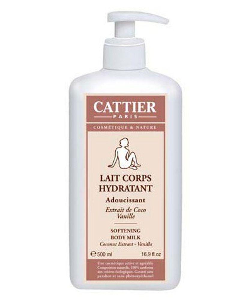 Le lait hydratant coco-vanille de Cattier