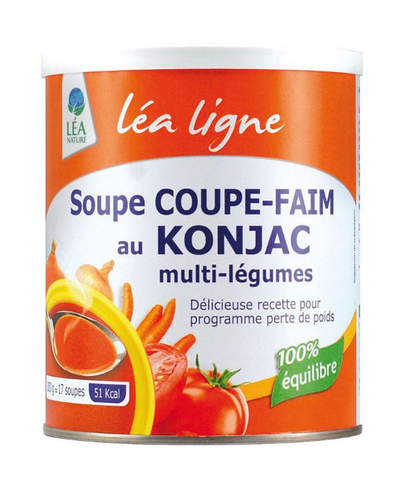 La soupe coupe-faim au konjac de Léa Nature