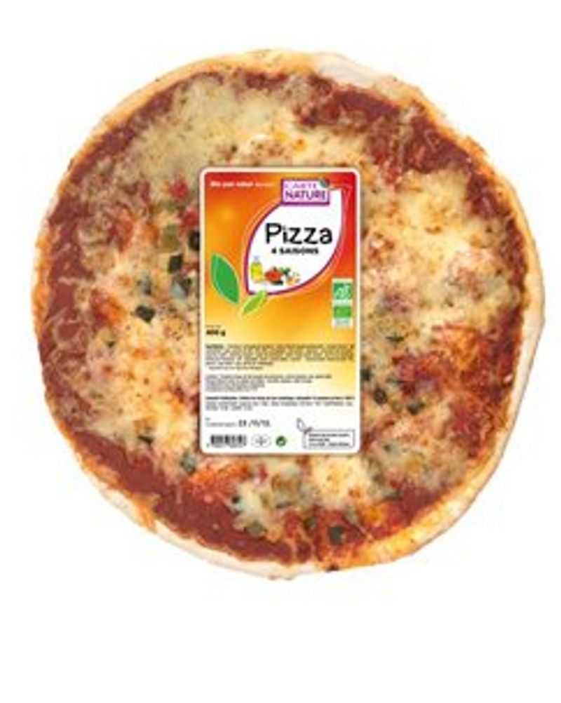Pizza 4 saison Cate nature