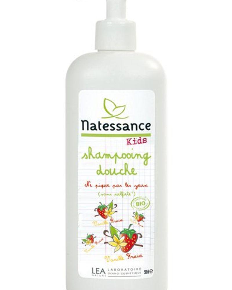 Shampoing Douche Vanille Fraise / Natessance