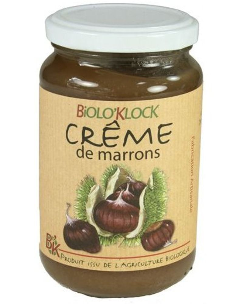 Crème de marron / Biolo'Klock