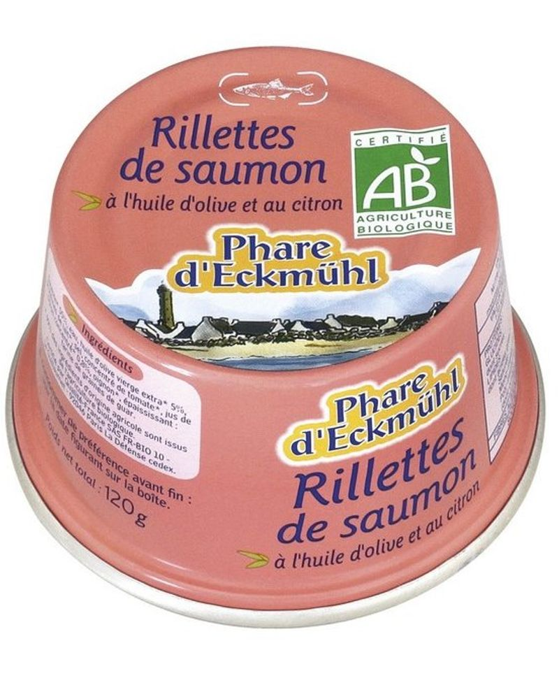 Rillettes de saumon / Phare d'Eckmühl