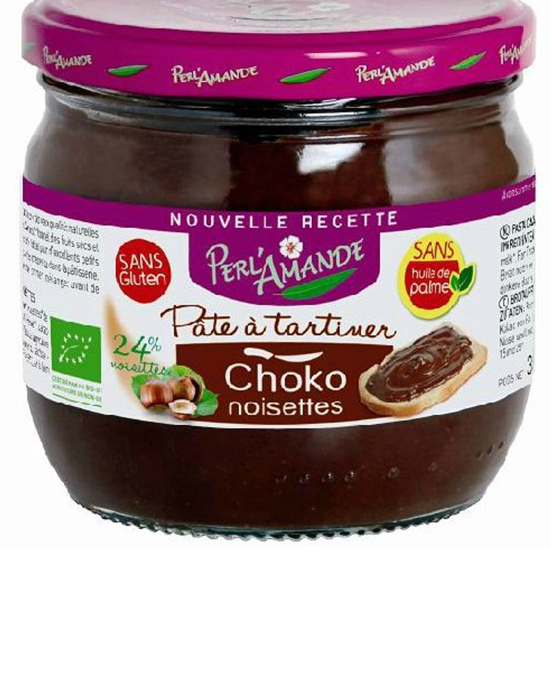 Pâte à tartiner chocolat noisette / Perl'Amande