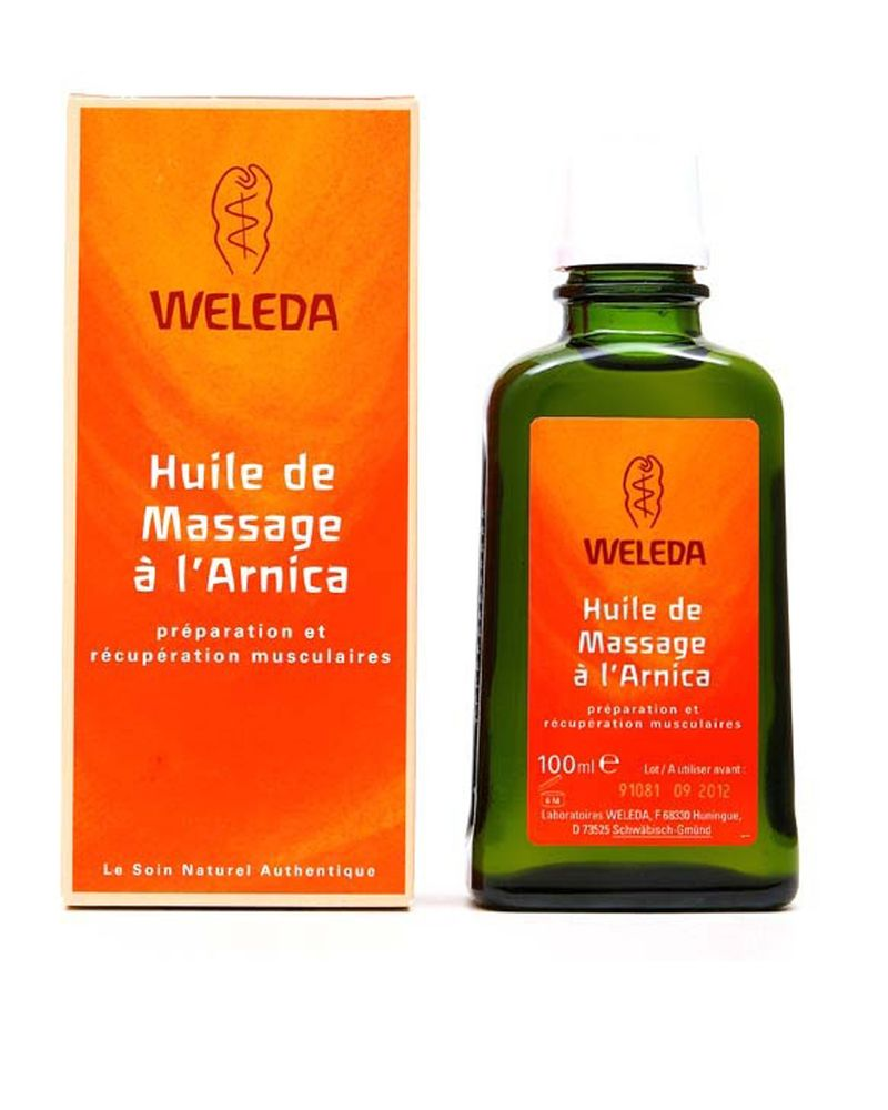huile de massage arnica bio weleda