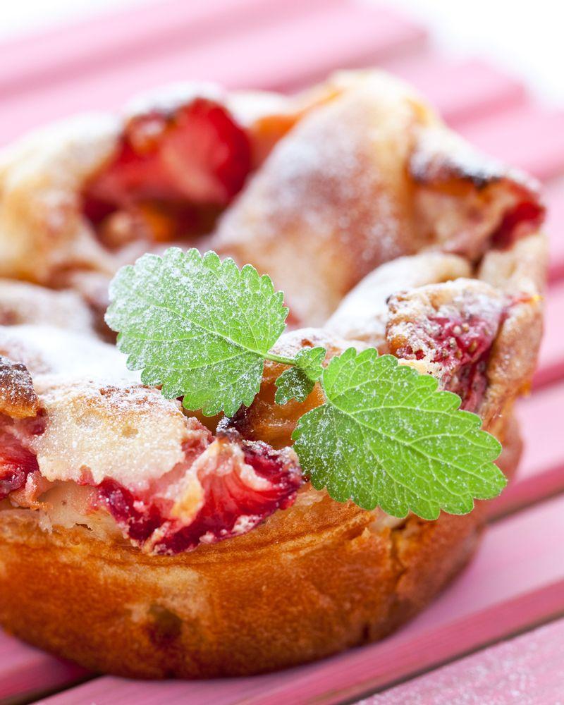 far fraise clafoutis