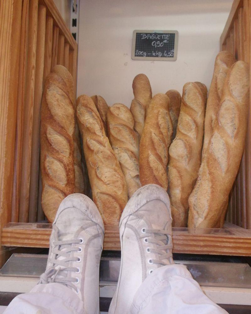 pieds boulangerie