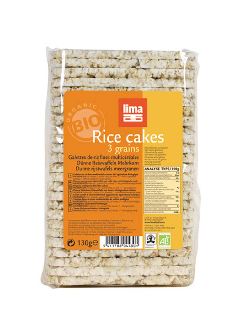 galette riz 3 céréales Lima
