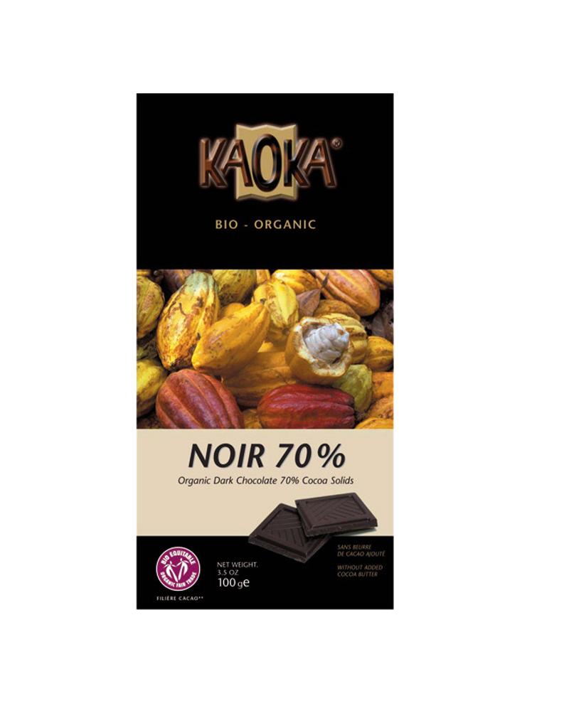 chocolat noir kaoka