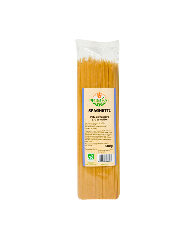 spaghettis demi complets priméal