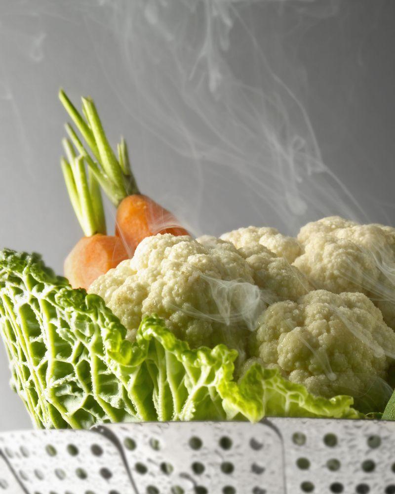 cuisson vapeur legumes