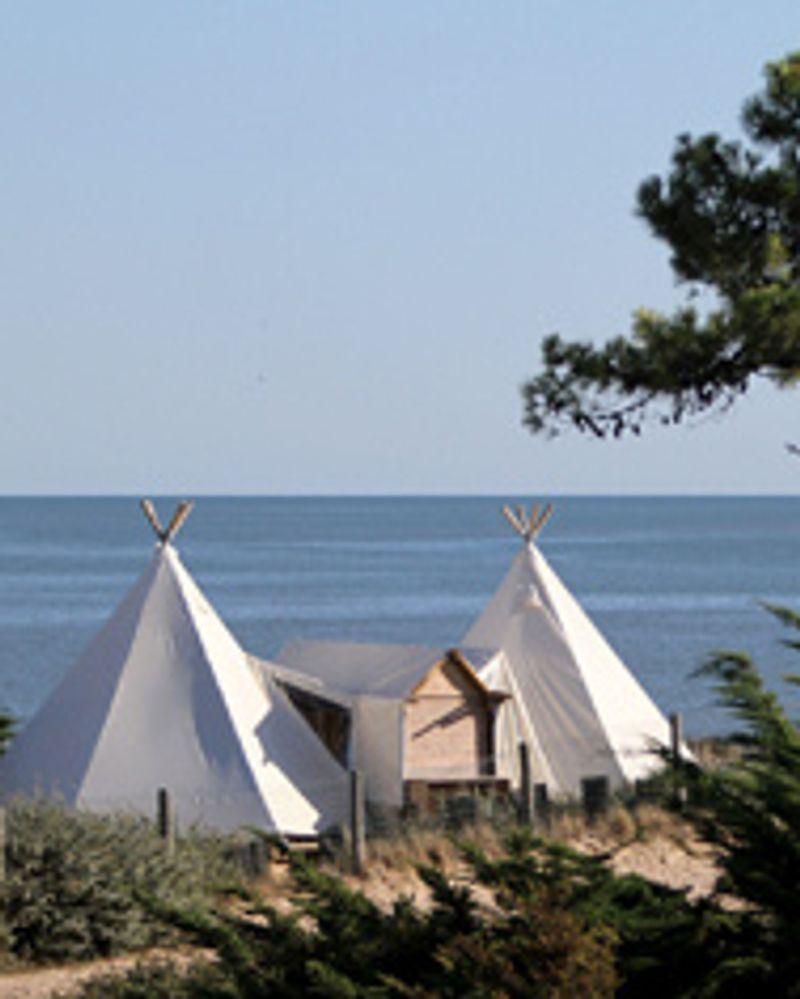 Camping les Moulins tipi
