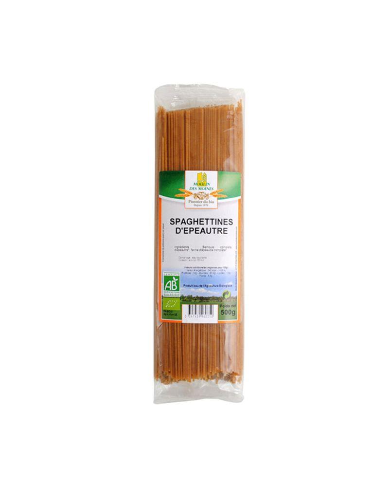 spaghettis épautre moulin des moines