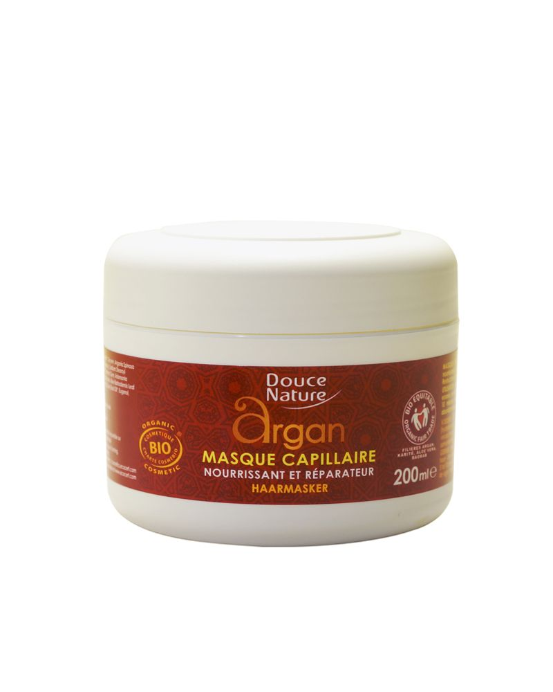 Masque capillaire argan douce nature
