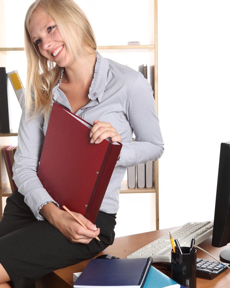 femme travail bureau