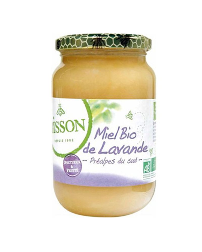 Miel de lavande bio de Bisson