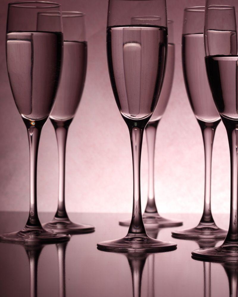 verre vin soirée