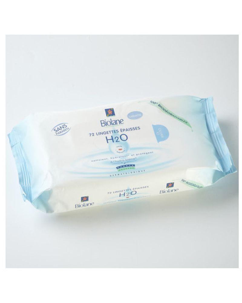 Lingettes bébé Biolane H2O