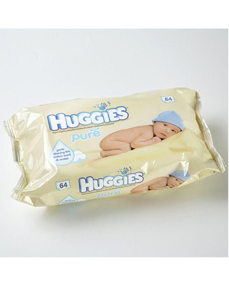 Lingette de toilette pour bébé Huggies Pure