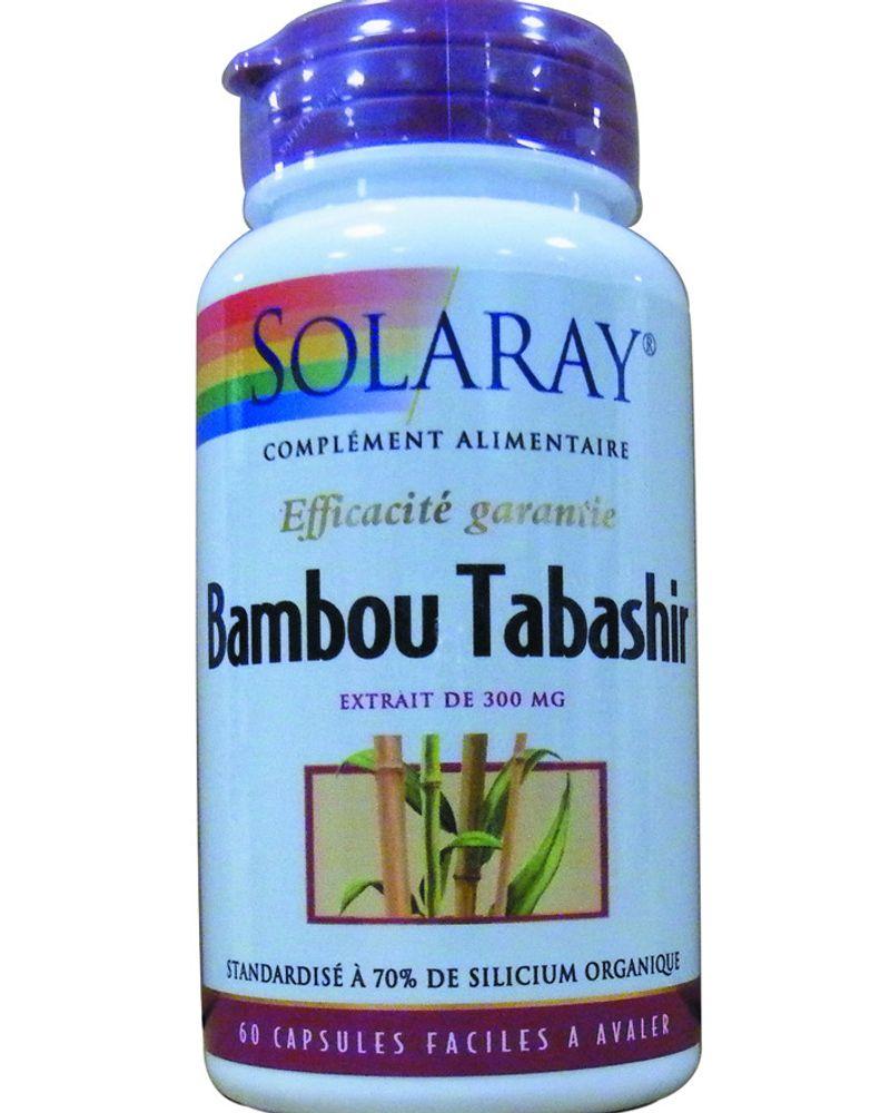 Bambou Tabashir de Solaray