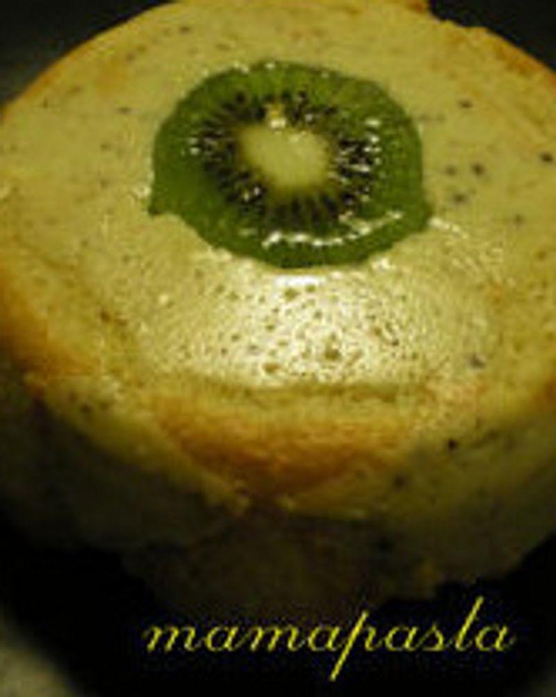 Demi charlotte à la mousse de kiwi par mamapasta