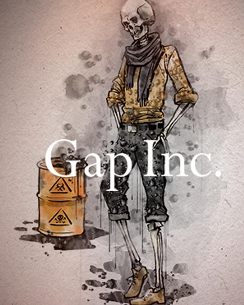 Greenpeace - The Detox Catwalk : GAP