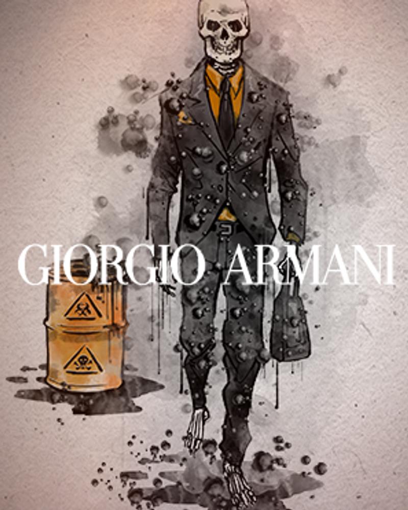 Greenpeace - The Detox Catwalk : Giorgio Armani
