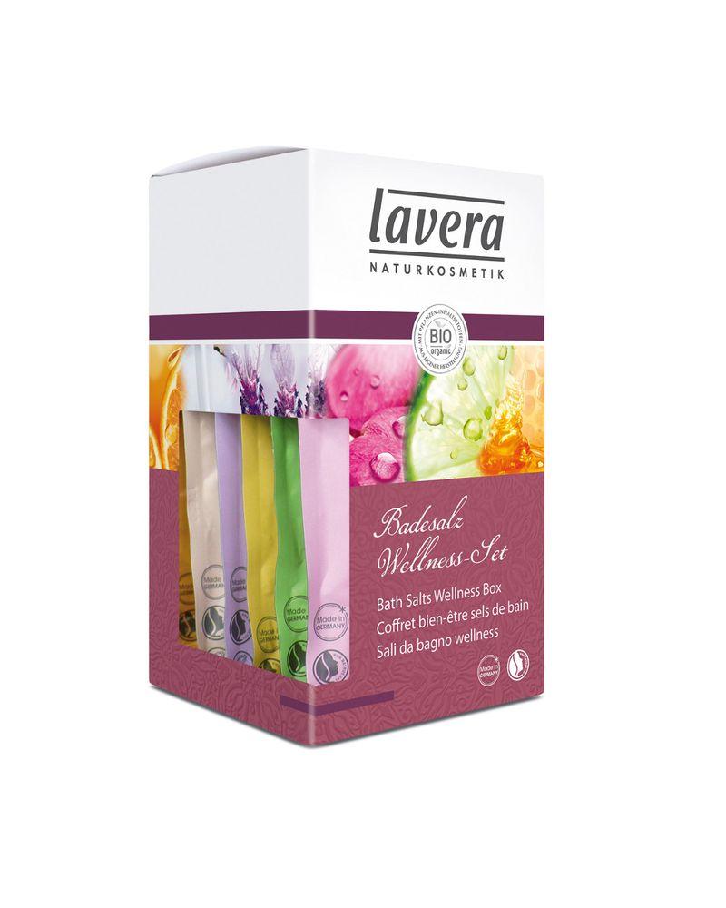 Coffret 6 sels de Bain LAVERA