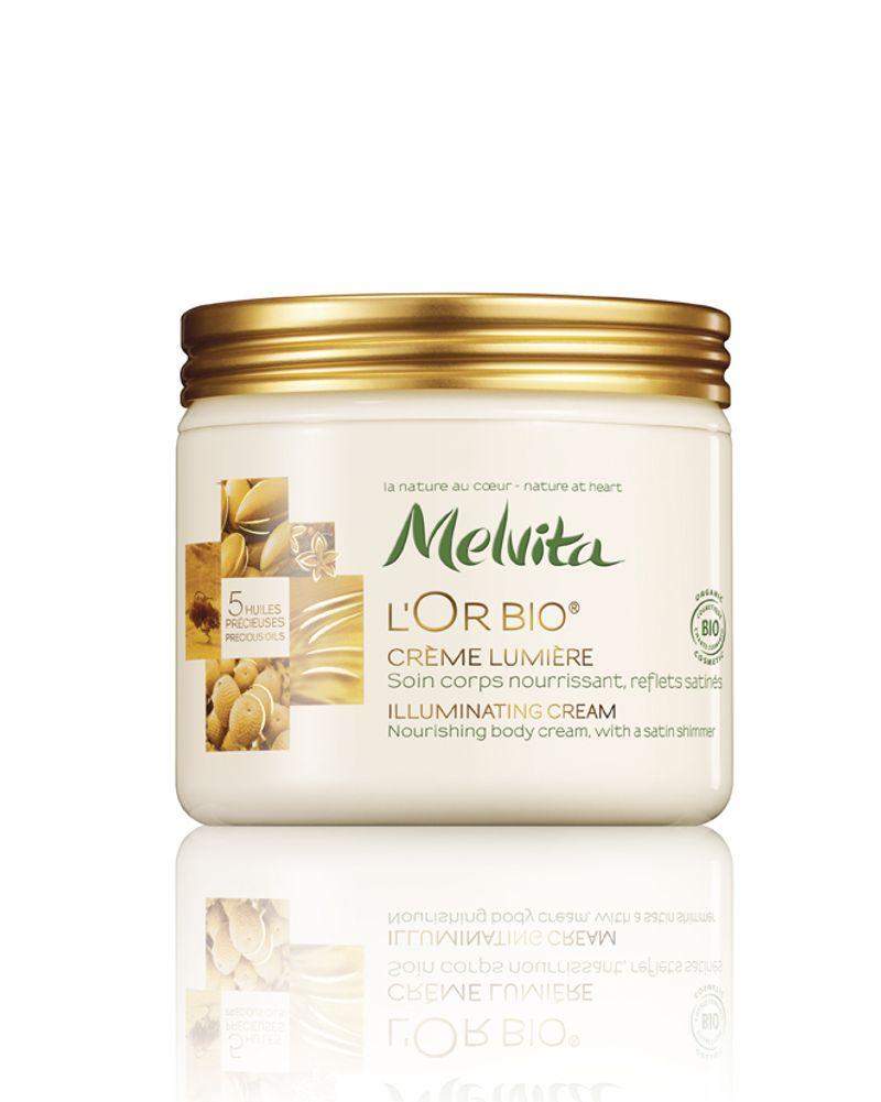 L'Or bio Crème Lumière de MELVITA