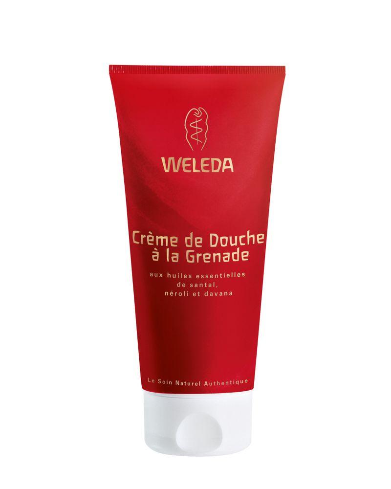 Crème de douche à la Grenade de Weleda