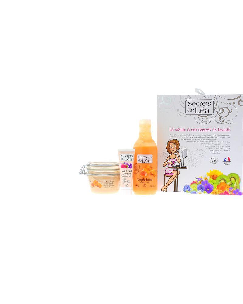 Les secrets de Léa - coffret abricot miel
