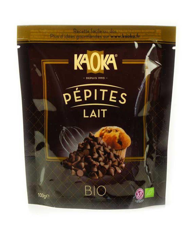 Pépites de chocolat au lait bio – 100g – 3.75€ - Bienmanger.com