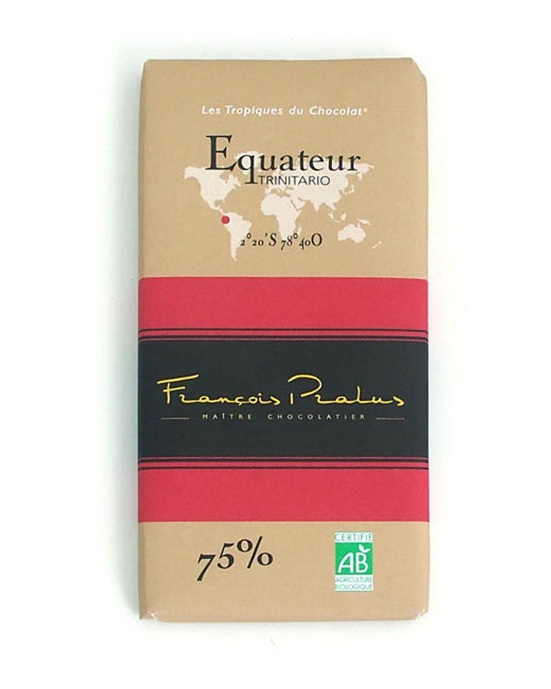 Tablette Equateur Pralus bio – 100g – 4.95€ - Bienmanger.com