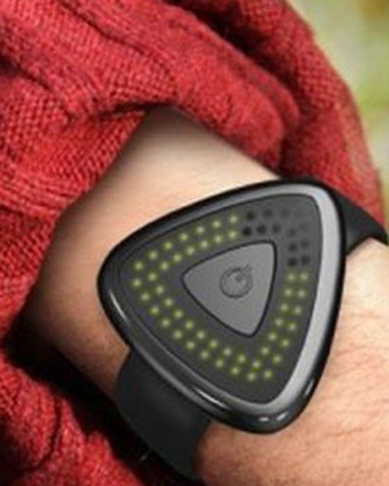Le bracelet anti pollution