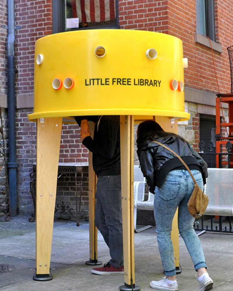 The Little Free Library, la bibliothèque sur le trottoir