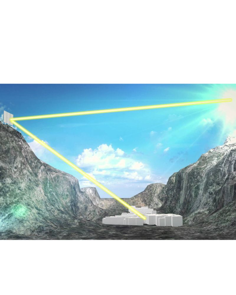 Rjukan, la ville qui invite les rayons du soleil